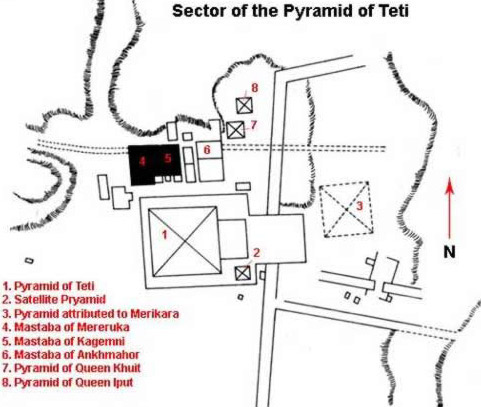 The Sector of the Pyramid of Teti