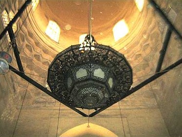 Lantern and dome of the mausoleum