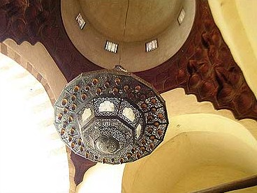 The dome of the Qibla Iwan