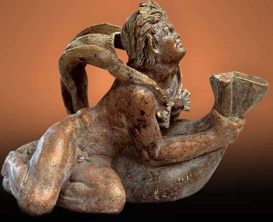 Satyr with a Wineskin