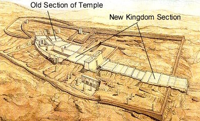 A general view of the temple site at Serabit el-Khadem