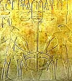 Set and Horus Symbolising the Union of Upper and Lower Egypt
