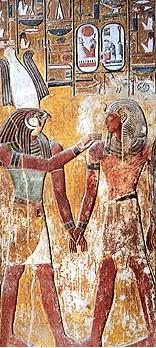 Hathor and Osiris