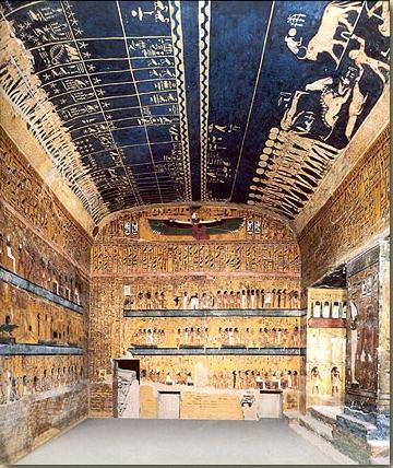 """Chamber of Djed"" (a symbol of Osiris)"