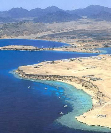 A View of Sharm el-Sheikh and Ras Um Sid