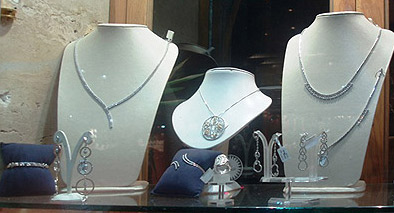 Fine white gold necklaces from Game' Square