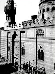 A view of the Mosque Entrance