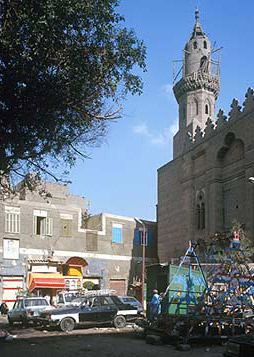 A good view of the Mosque Minaret