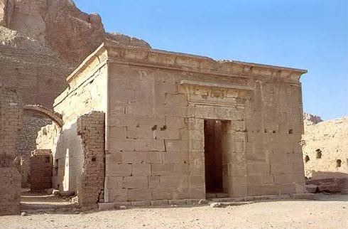 The Ptolemaic Temple near the Village of the Artisans