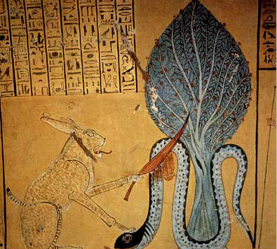 Apophis (Apep) in the underworld