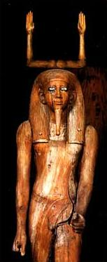 A Ka Statueof Auibre Hor from the 13th Dynasty reign of Auibre  Hor