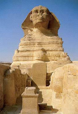 The Great Sphinx at Giza in Egypt