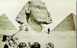 The Sphinx by Zangaki, before 1880.