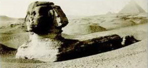 The Sphinx in the second half of the nineteenth century.