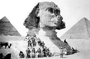 The Sphinx in 1882