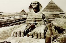 The Sphinx as revealed by the clearances and restorations of Baraize in the late 1920