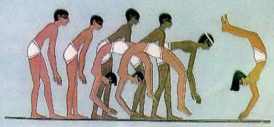 Ancient Egyptian Sports-Consecutive Vault