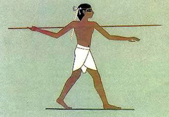 Ancient Egyptian Sports-Javelin Throw