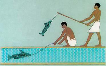Ancient Egyptian Sports-Fishing