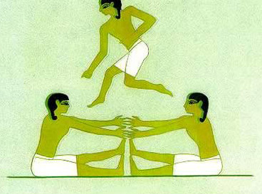 Ancient Egyptian Sports-High Jump