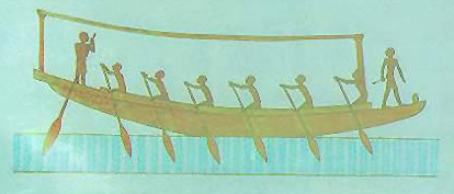 Ancient Egyptian Sports-Rowing