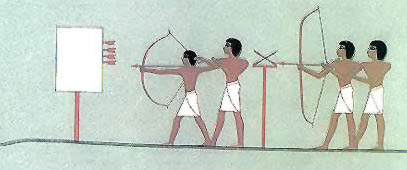 Ancient Egyptian Sports-Archery