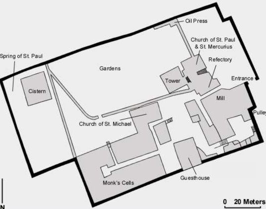 General Plan of the Monastery