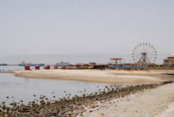 Amusement park suez sea