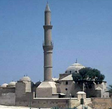 Modern view of the Mosque of Sulayman Pasha