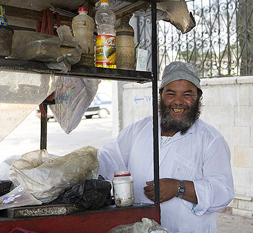 Cooking in the City of the Dead in Cairo