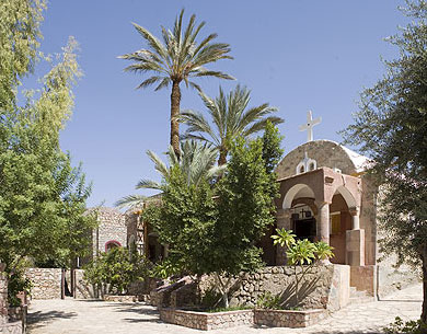 The old church at the  Monastery of Moses