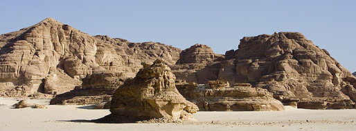 The alien landscape of the Southern Central Sinai