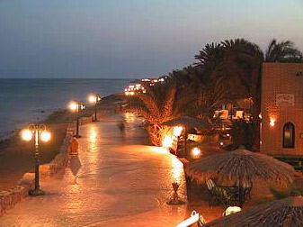 An evening at Dahab on the Sinai East Coast