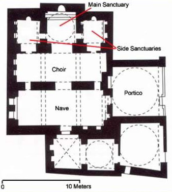 Plan of the Church of St. Mary