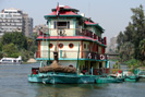 Colorful River Vessel