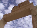 Clouds Over Archway at Temple of Hatshepsut