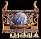 Gold Pectoral with Solar Boat
