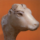 Hathor as a Cow