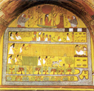 Ag Scenes from Tomb of Sennedjem