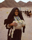 Bedouin Shepherdess