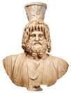 Marble Bust of Sarapis