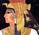 Portrait of Nefertari from her Tomb