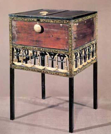 Cabinet with Hieroglyphic Fretwork