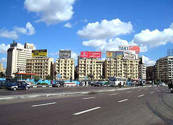 Another view near the Tahrir Square