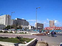 Views of Tahrir Square