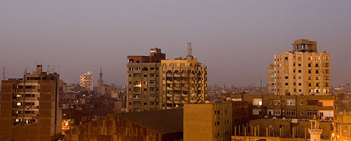 The Tanta Skyline in the Early Morning