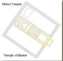 Plan of the Temple of Bastet