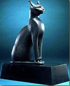 Bastet, the Cat Goddess