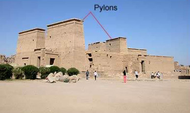 Philae Temple in Southern Egypt