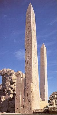 Obelisk of  Tuthmosis I and Hatshepsut at Karnak